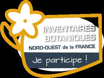 Logo Inventaires botaniques Nord Ouest de la France... Je participe !